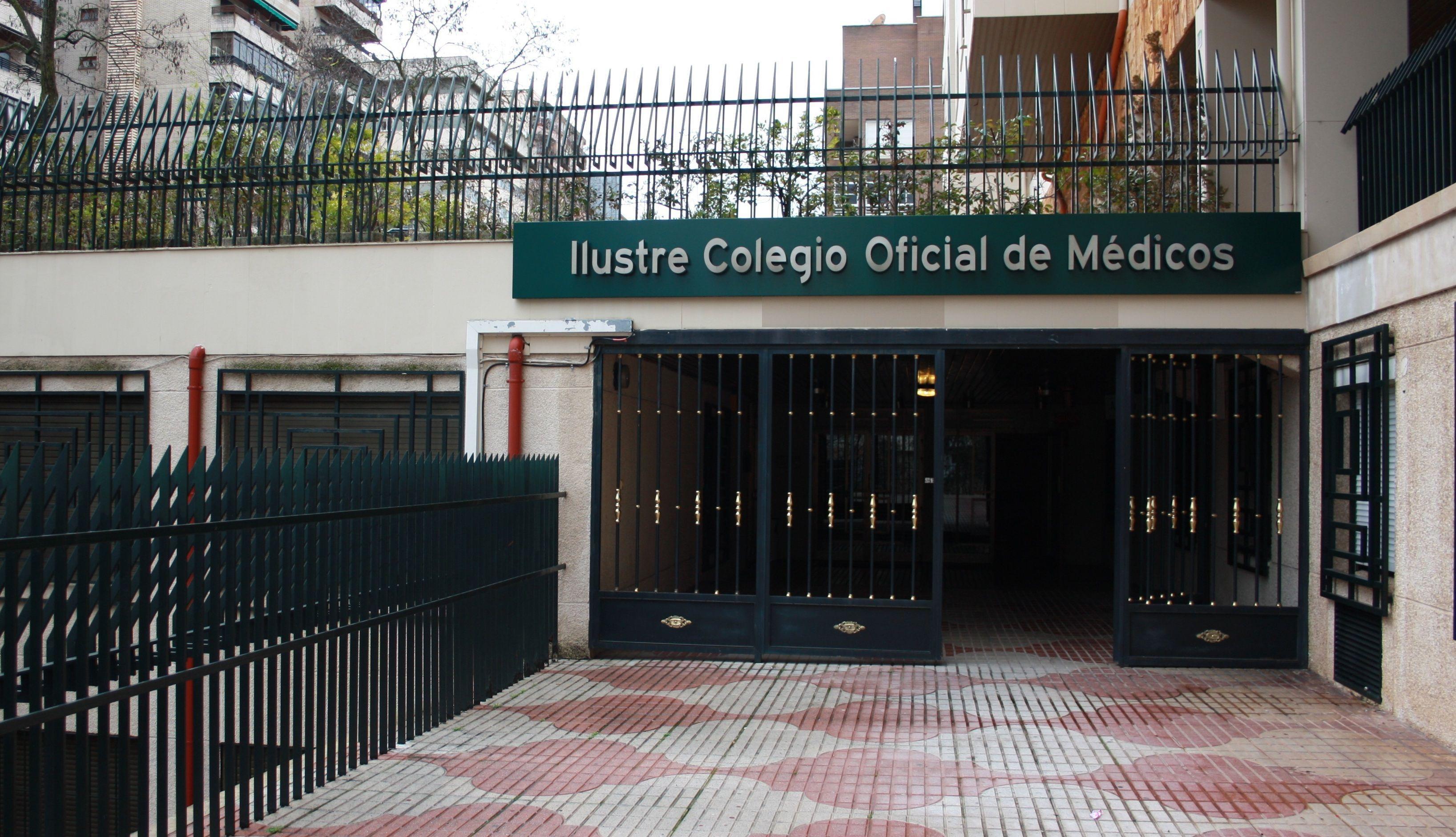 Fachada principal Colegio de Médicos de Cáceres