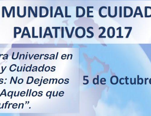 El día 5 de octubre se celebrará en Cáceres el Día Mundial de Cuidados Paliativos