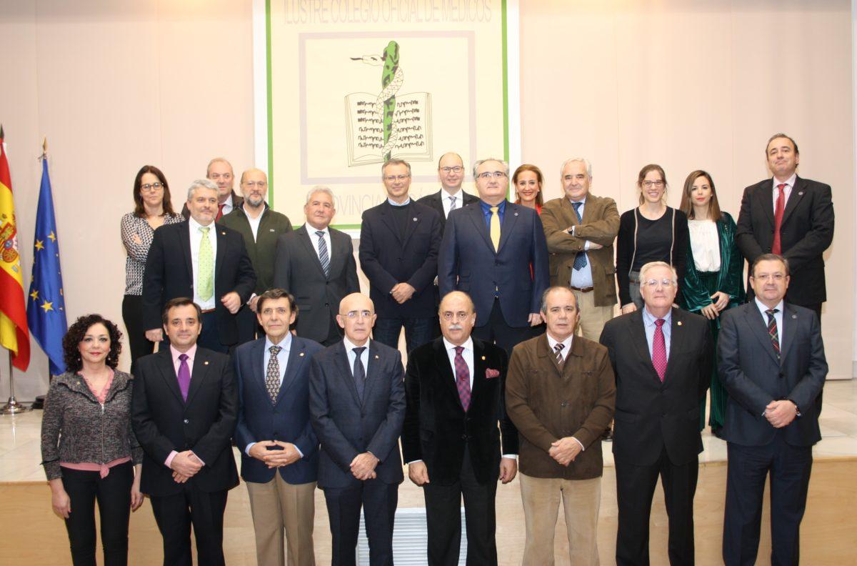 Miembros Consejo Autonómico de Colegios Profesionales de Médicos de Extremadura