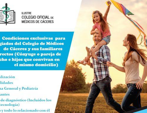 Convenio de colaboración Colegio de Médicos y Adeslas