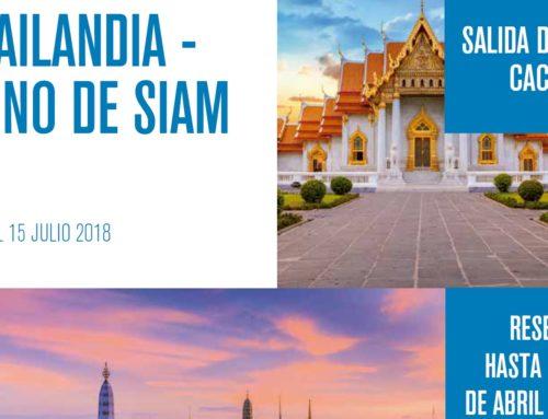 Oferta de Halcón Viajes para el Colegio de Médicos de Cáceres. Viaje especial a Thailandia