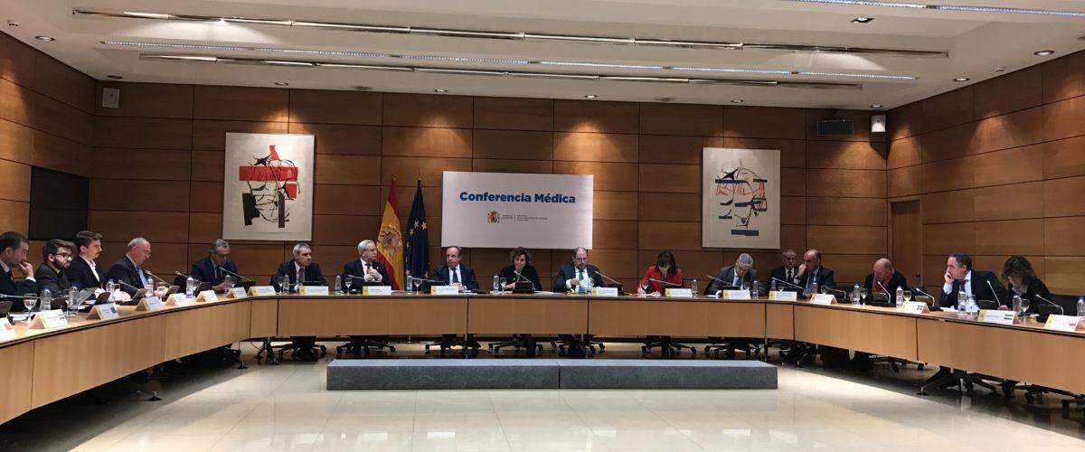 12-04-2018 Ministra de Sanidad, Servicios Sociales e Igualdad con altos cargos del Ministerio y representantes del FPME y consejerías de Sanidad
