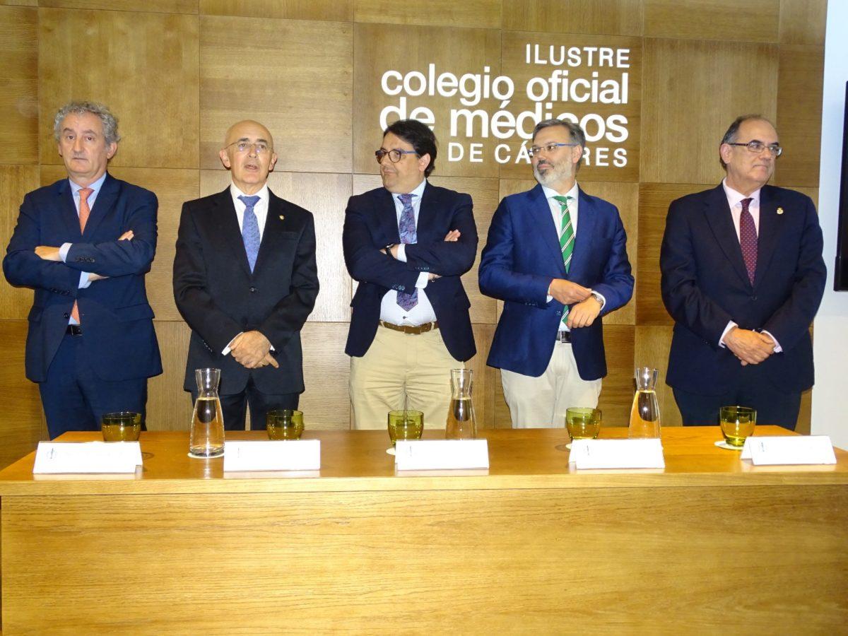 08-06-2018 Inauguración sede Colegio de Médicos de Plasencia