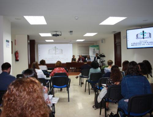 Médicos de la provincia actualizan conocimientos sobre  urticaria y angioedema en el Colegio de Médicos de Cáceres