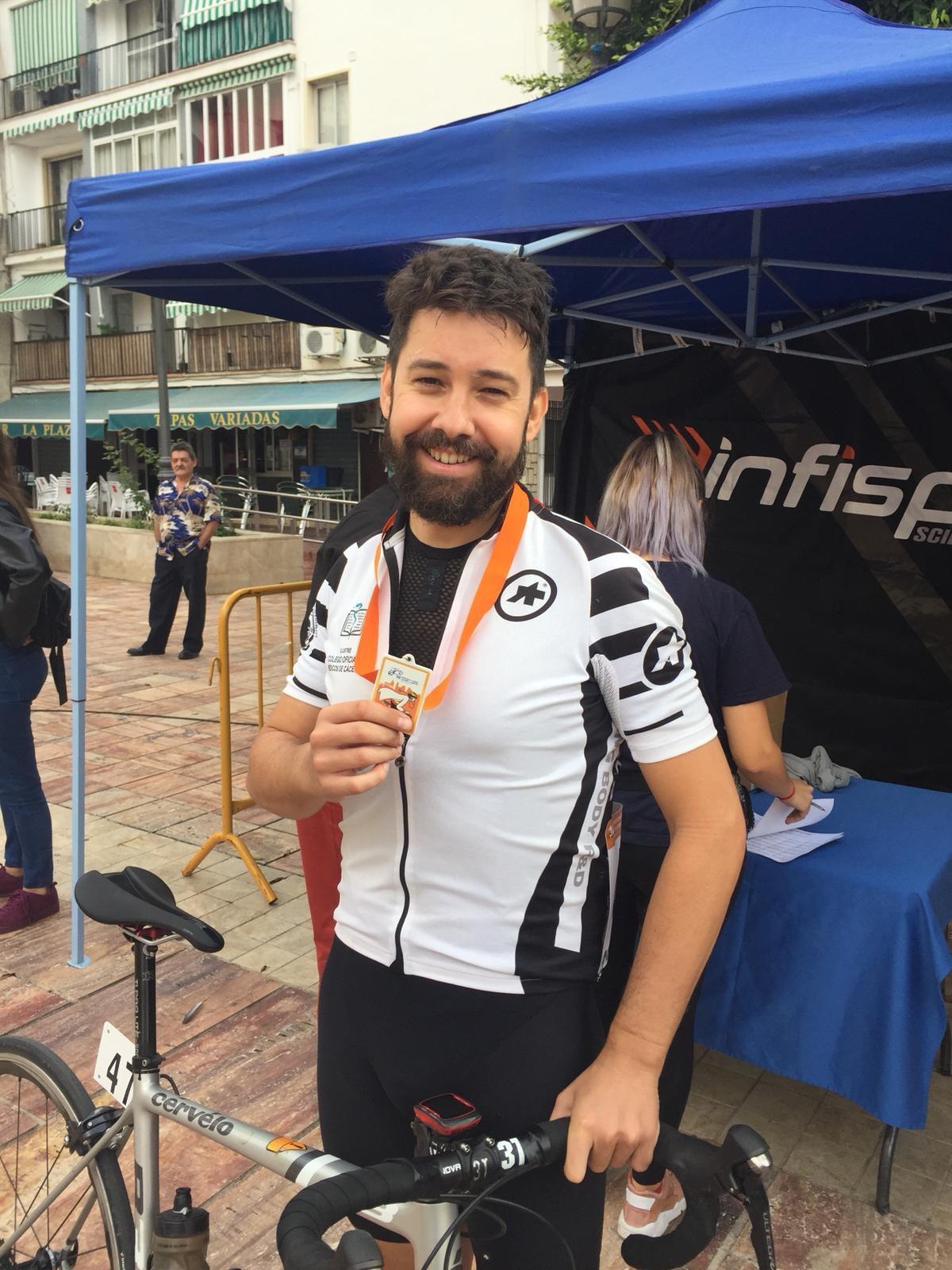 Daniel Gómez Pizarro participa en el Campeonato de Ciclismo de Málaga (1)
