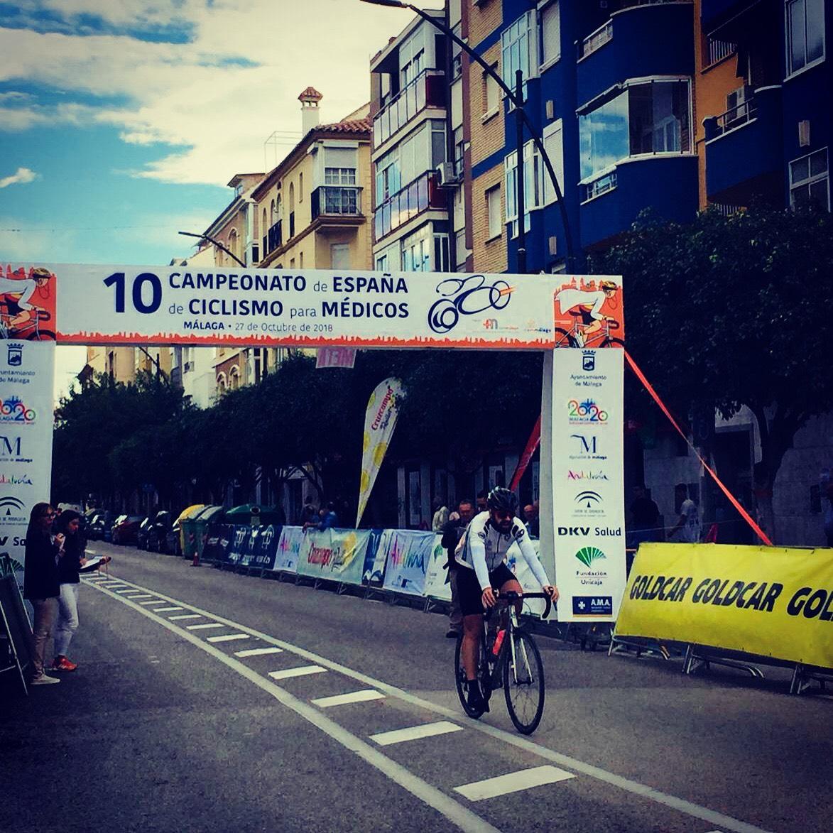 Daniel Gómez Pizarro participa en el Campeonato de Ciclismo de Málaga