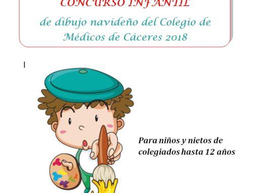 El Concurso de Dibujo Navideño del Colegio de Médicos de Cáceres cumple 10 años
