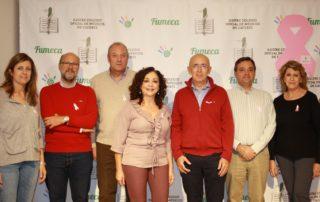 Miembros Junta Directiva del Colegio de Médicos de Cáceres- Día Mundial Cáncer de Mama