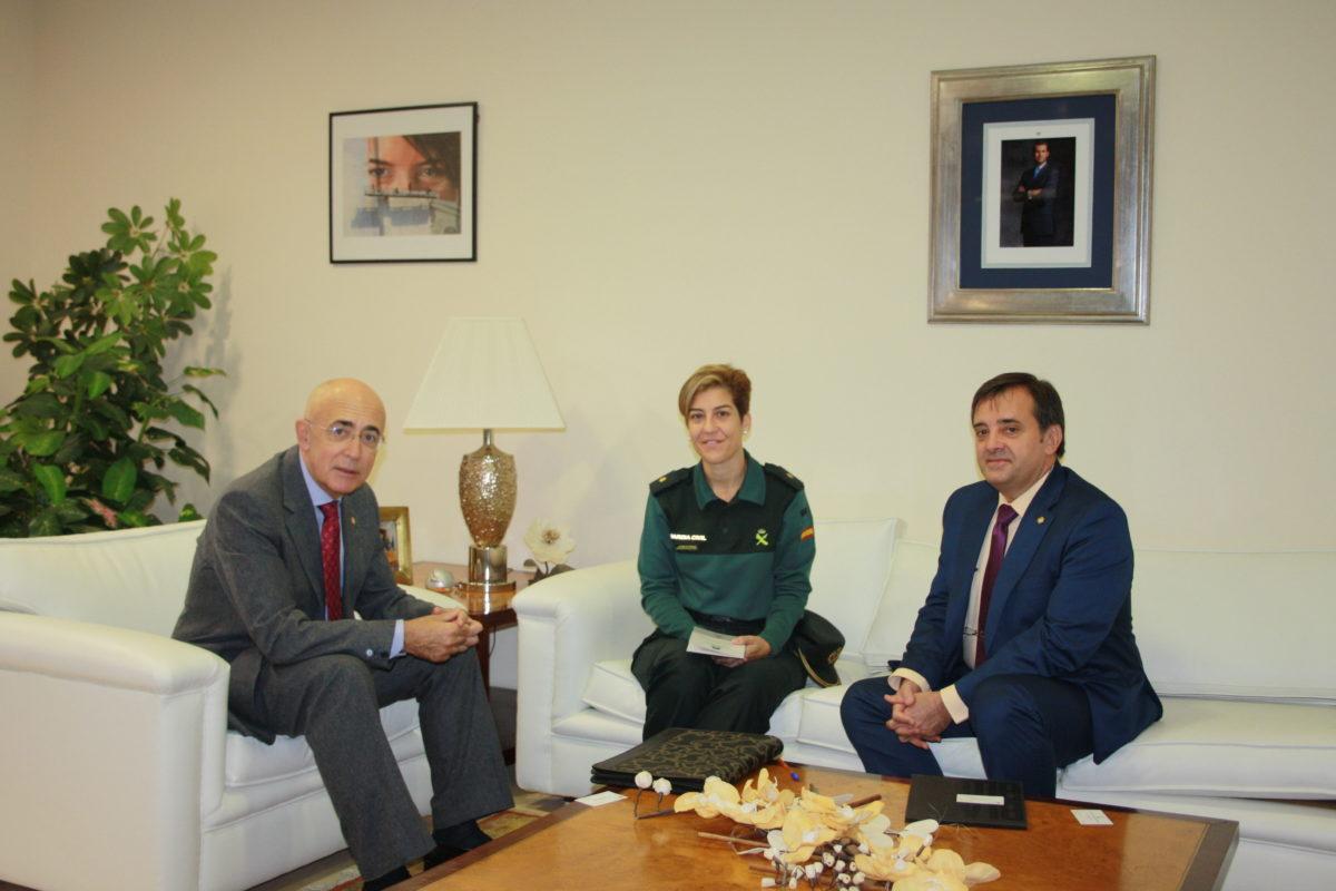 19-11-2018 Reunión Guardia Civil Cáceres- agresiones a médicos (1)