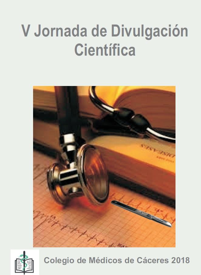 Portada Libro V Jornada de Divulgación Científica