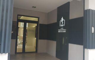 entrada delegación colegio médicos Plasencia