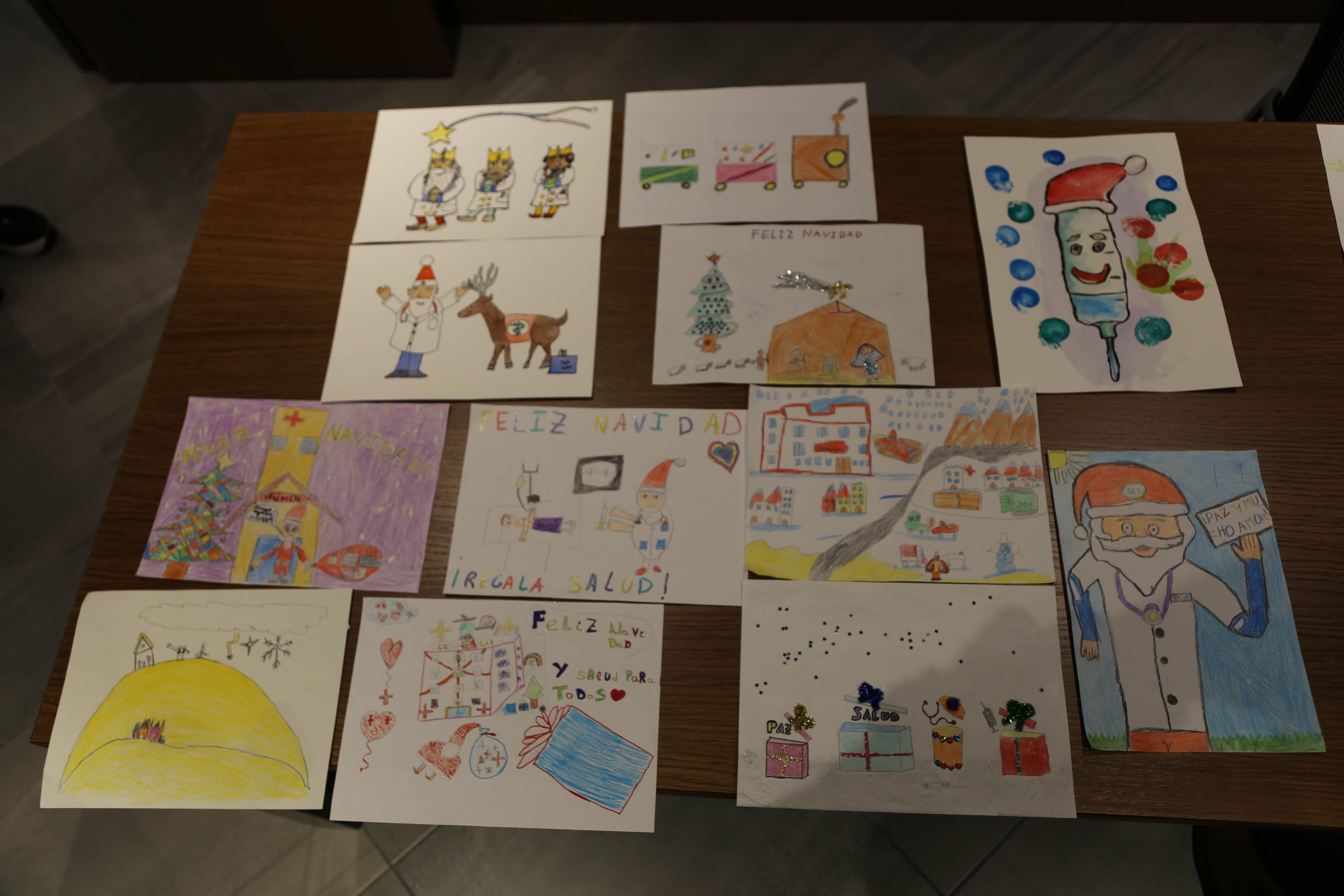 exposición dibujos Navidad 2018- Plasencia