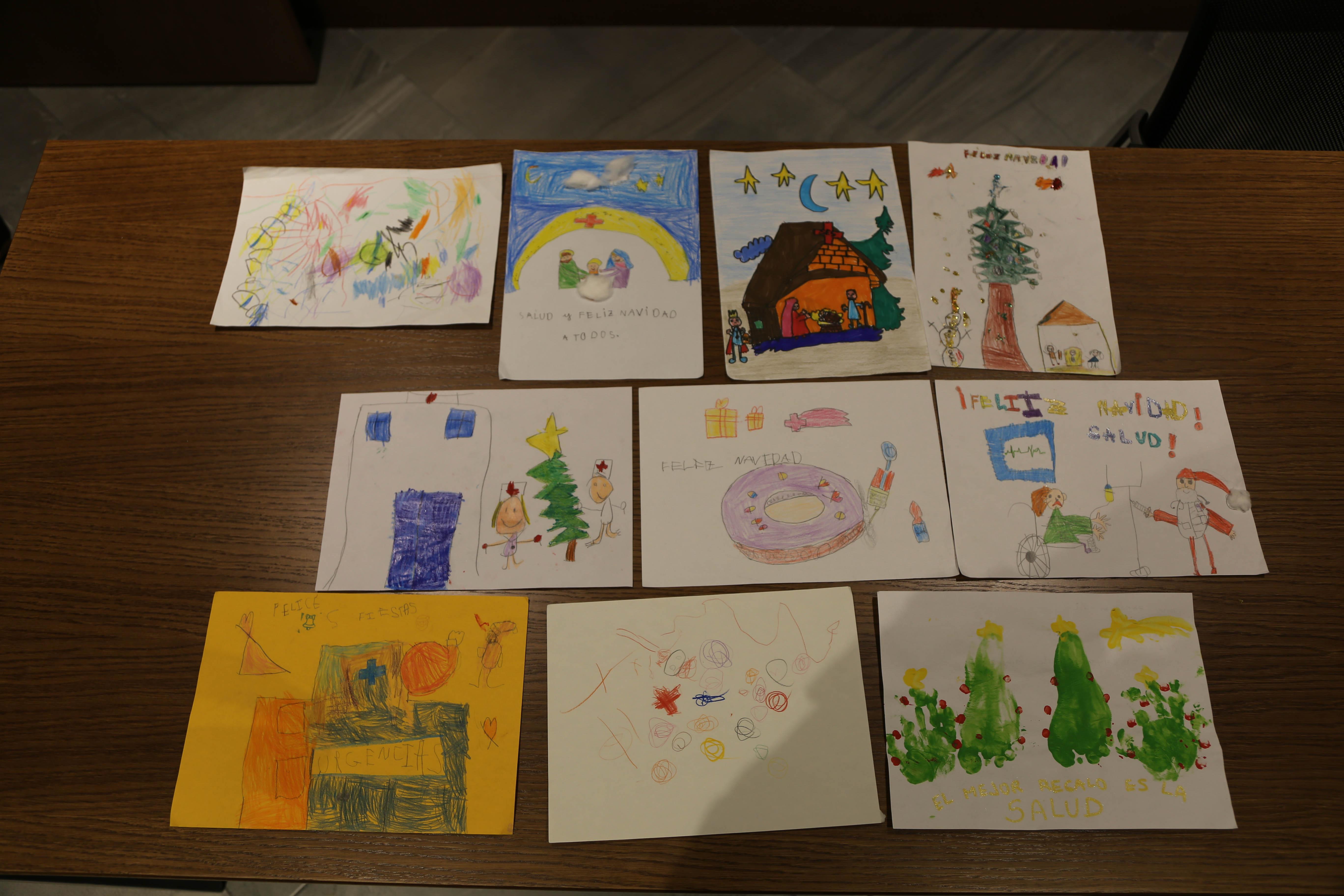 exposición dibujos Navidad 2018- Plasencia 1