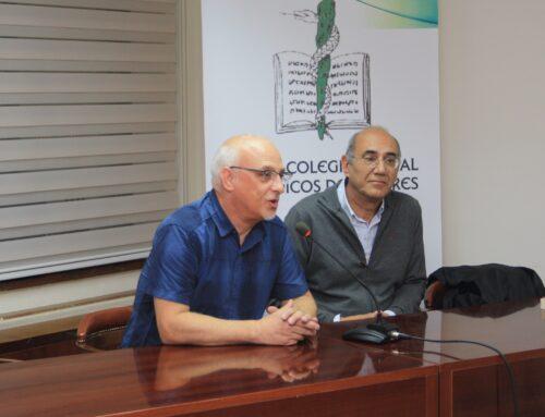 Profesionales se forman en el Colegio de Médicos de Cáceres  sobre radiología torácica