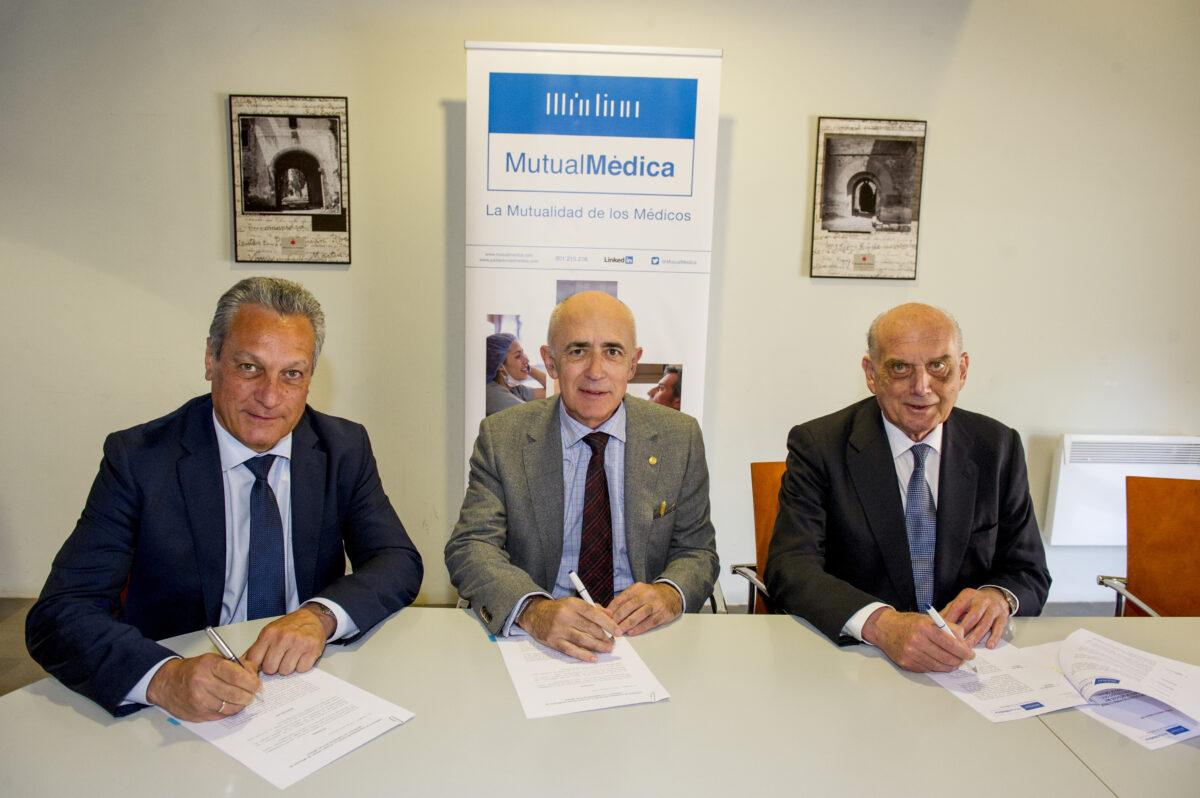 Firma Convenio Mutual Médica agresiones marzo 2019