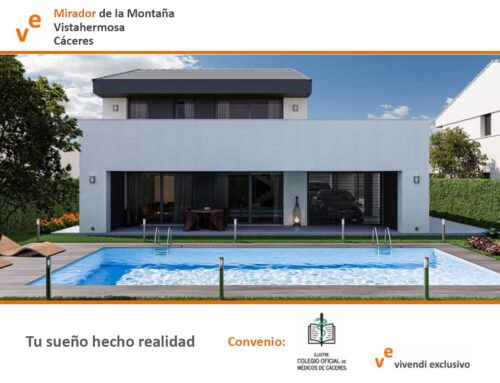 Presentación promoción especial para médicos de viviendas en urbanización Vistahermosa