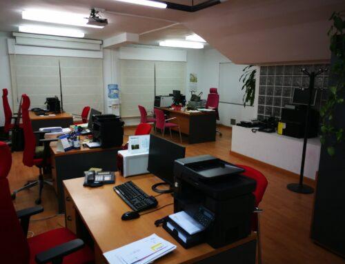Traslado de las oficinas del Colegio de Médicos de Cáceres al antiguo centro de reconocimiento por reforma de la sede