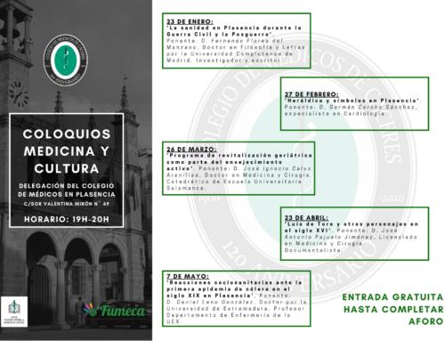 Ciclo de conferencias sobre medicina y cultura para celebrar el 120 aniversario del Colegio de Médicos