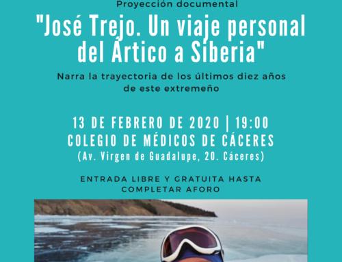 El Colegio de Médicos acoge el 13 de febrero la proyección del documental del extremeño José Trejo en el Ártico