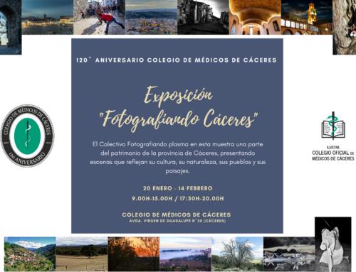 El Colegio de Médicos inaugura su 120 aniversario con la exposición fotográfica «Fotografiando Cáceres»