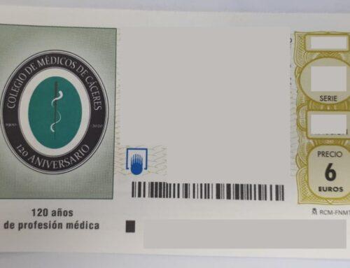 Lotería Nacional dedicará el décimo del 5 de septiembre al 120 aniversario del Colegio de Médicos