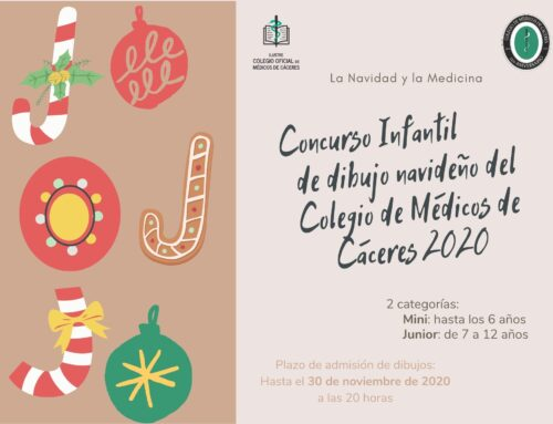 Continúa abierto el plazo para presentar dibujos al concurso de Navidad que organiza el Colegio de Médicos de Cáceres
