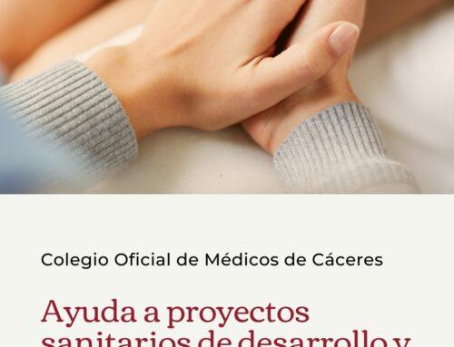 El Colegio de Médicos de Cáceres convoca una nueva edición de su programa de ayudas para Proyectos Sanitarios de Desarrollo y Solidaridad