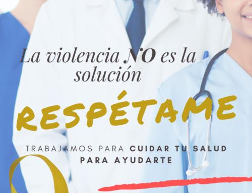 Si sufres una agresión ponte en contacto con el Colegio de Médicos