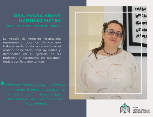 Conoce la Vocalía de  Atención Hospitalaria y su representante la Dra. Yvana Anavy Martínez Mateo
